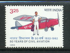 1982 India SC 990 - 3.25r, 50 Years of Civil Aviation - MNH Mint*