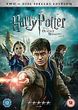 HARRY POTTER AND THE DEATHLY HALLOWS PART 2 DVD YEAR 8 New 8th Eighth Movie