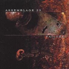 Assemblage 23 Failure CD Nov 2001, Metropolis synthpop electropop futurepop