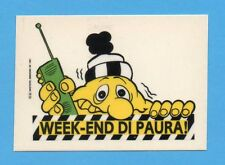 JUVE NELLA LEGGENDA-Ed.MASTER 91-Figurina/ADESIVO n.67- WEEK END DI PAURA !-NEW