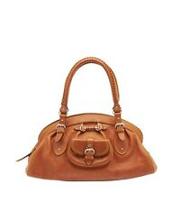 Christian Dior My Dior Tan  Leather Satchel