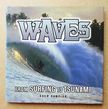 """"""" - Onde da Surf per Tsunami """"Drew kampion LIBRO Surf Surf prima edizione"""