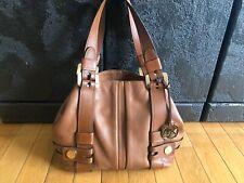 Michael Kors Shoulder Bag Harness Luggage Pebbled Leather EUCWT MSR $395