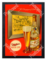 Historic Miller High Life 1948 Beer Ad Postcard