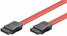 HDD S-ATA cable 1.5 GBits/ 3 GBits red 0.5m SATA L-Type male to SATA L-Type male