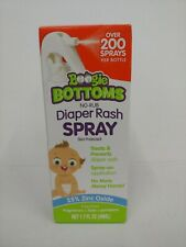 New Boogie Bottoms No-Rub Diaper Rash Spray skin-protectant 1.7 fl oz Exp. 1/23
