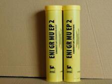 10,25€/kg ENI GR MU EP2 Schmierfett 2 x 400 g Kartuschen + Handhebelfettpresse
