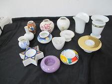 Markenporzellan 14 Teile kleine Vasen - Kerzenständer - Arzberg - Thomas ....*1*