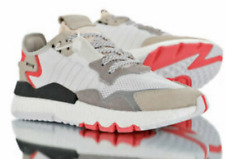 New MENS ADIDAS NITE Ultra JOGGER SNEAKERS F34123 Shock Red White Boost