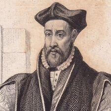 Portrait XIXe Philibert Delorme Philibert de l'Orme Architecture Renaissance