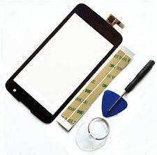 Negro Pantalla táctil Touch Digitizer Para LG K120E K4 K120