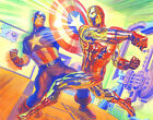 Alex Ross SIGNED In Mortal Combat Giclee on Canvas Limited Edition of 100