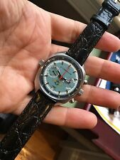 VINTAGE Russian Poljot STURMANSKIE Chrono Mens Watch 3133 Movement. WITH ISSUE