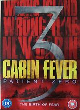 Cabin Fever 3 Patient Zero DVD Region 2 Horror *New & sealed*