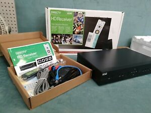 New Direct TV H21-200 HD Receiver HDMI with Remote Control Power Cords Box