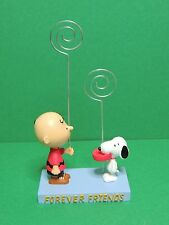 Peanuts Snoopy & Charlie Brown resin photo frame figure Avenue of the stars