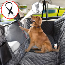 New listing Dog Seat Cover For Back Seat 100% Waterproof Dog Car Seat Standard Black