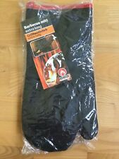 BBQ Collection Barbecue Handschuh Grillhandschuh extra lang schwarz/rot NEU &OVP