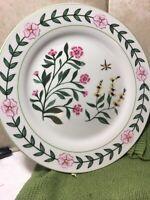 "L Godinger & Co. China Set Of 3 9"" Plates"
