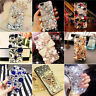 3D Luxury Bling Crystal Rhinestone Diamonds Gems Fox Hard Back Phone Case Cover