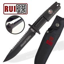KNIFE COLTELLO DA CACCIA RUI R31710 SURVIVOR SOPRAVVIVENZA CAMPEGGIO STILE RAMBO