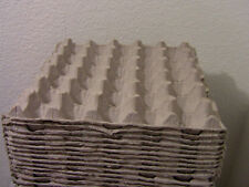 20 Pcs Egg Cartons Paper Trays Flats / Hatching 30 Ct Eggs, Crafts