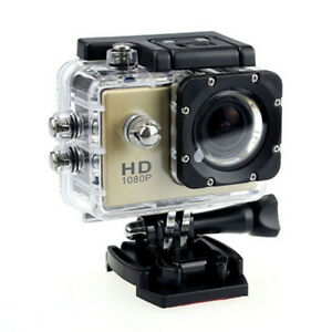 "Waterproof Sports DV 1080P HD Video Action Camera 2.0"" Screen Cam Pro Underwater"