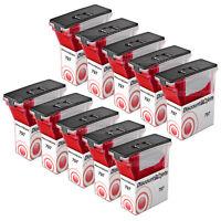 10PK 797-0 for Pitney Bowes K700 Flourescent Red Ink Cartridge MailStation K700