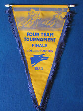 Vintage Speedway Pennant - Four Team Tournament Finals - 1980 - Wolverhampton