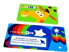 New Toys R Us Rewards Card & Key Card Chain Collectible Gift Store Geoffrey Rare For Sale