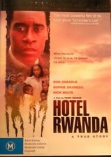 HOTEL RWANDA DVD DON CHEADLE 2004 FREE POST WITHIN AUSTRALIA