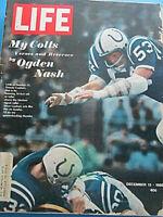 LIFE December 13 1968 NFL Colts Scenario Of Spies Lady Jockeys