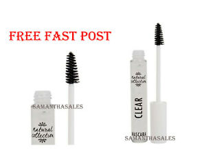 Natural Collection CLEAR Mascara NEW For Lashes and Brows FREE FAST POST