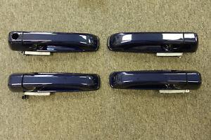 NEW 2012-2018 Dodge RAM EXPRESS QUAD or CREW CAB True Blue Pearl Door Handles