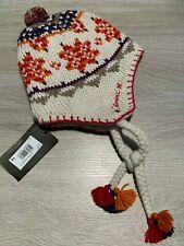 RRP £54 * CATIMINI * Girls Designer Wool Hat * Age 3-6 T4 * Cream