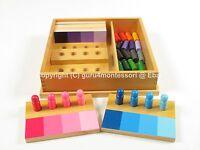 NEW Montessori Sensorial Material - Colour Resemblance Sorting Task