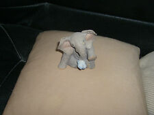 tuskers baby elephant lonely for you ornament