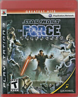 LIKE NEW Star Wars The Force Unleashed WITH MANUAL PS3 Playstation 3 Game