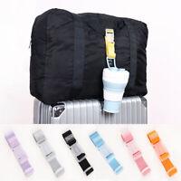 Anti-lost Clip Luggage Hang Belt Travel Hanger Buckle Suitcase Strap Bag Plastic