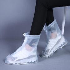 Rain Shoe Cover Waterproof Overshoes Thickened PVC Rainproof Sneakers Protector