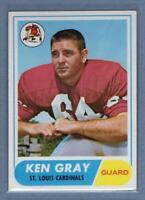 1968 Topps #138 Ken Gray EX-MT  GO205