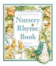 Beatrix Potter's Nursery Rhyme Book / Peter Rabbit c2000 VGC Hardcover