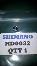 Shimano fishing reel Poignée Serrure Plaque Vis. Ref # RD0032. APPLICATIONS ci-dessous.