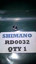 SHIMANO FISHING REEL HANDLE LOCK PLATE SCREW. REF# RD0032. APPLICATIONS BELOW.