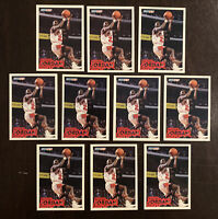 INVESTOR'S LOT OF 10 MICHAEL JORDAN 1993 FLEER #28 CARDS MOST ARE NM-MT