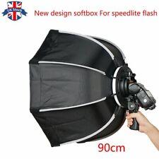 UK new design 90cm Portable Octagon Umbrella Softbox For all Speedliter flash