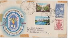 Olympic Games 1956 stamps Australia on souvenir cover commemorative postmark