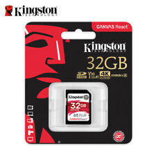 Kingston SDR 32GB SDHC SD Card UHS-1 U3 For 4K 2K Video Photography Camcorder