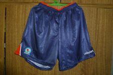 Rare Blackburn Rovers Soccer Shorts Uhlsport Vintage Football Size M