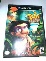 Tak and the Power of Juju (Nintendo GameCube, 2003 Game) w/ Case + Tested!